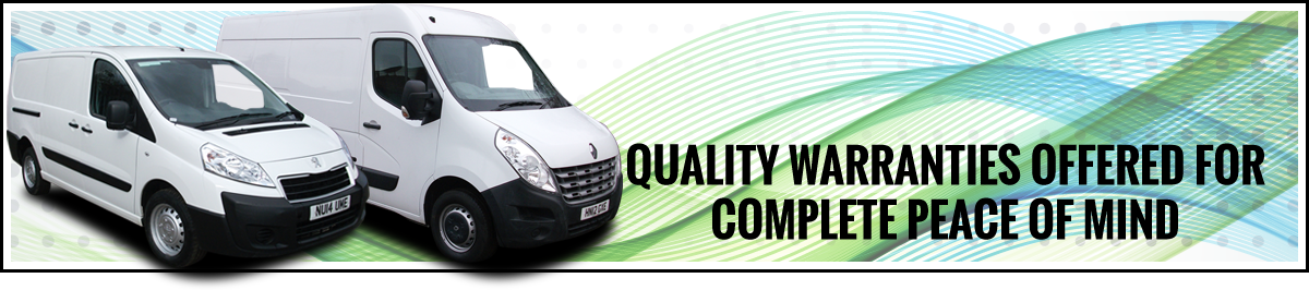 Quality warranties offered for complete peace of mind - Aspland Van Centre, Norwich