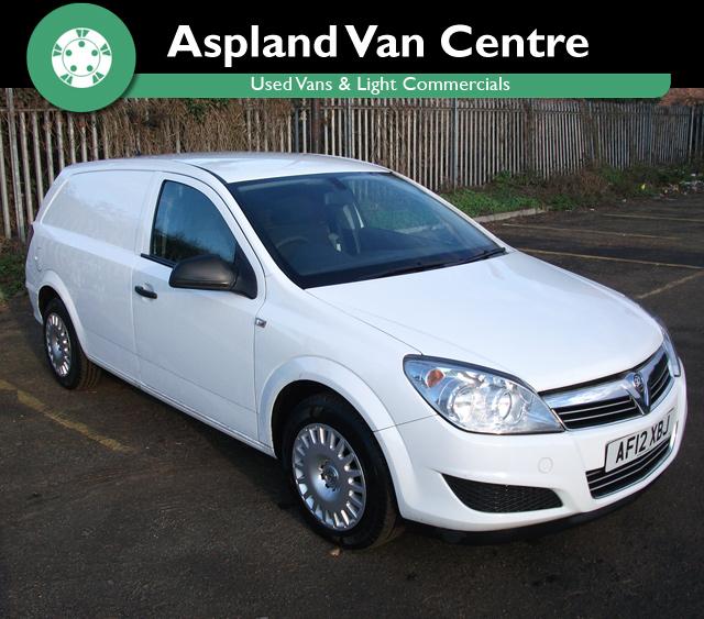 Vauxhall Astra Van 1.7CDTi 16V ecoFlex Club - Aspland Van Centre, Norwich - USED - 106,000 MILEAGE - MANUAL TRANSMISSION - £3,295 + VAT