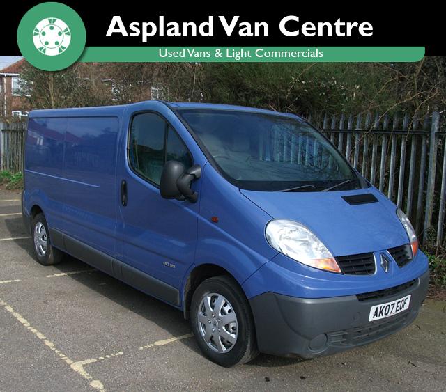 Renault Trafic 2.0TD LL29DCi 115 LWB - Aspland Van Centre, Norwich - USED - 172,000 MILEAGE - MANUAL TRANSMISSION - £2,995 + VAT