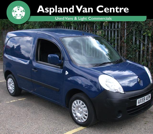 Renault Kangoo 1.5TD ML19 70+ - Aspland Van Centre, Norwich - USED - 83,418 MILEAGE - MANUAL TRANSMISSION - £3,995 + VAT
