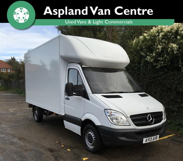 Mercedes Sprinter 2.1TD 313CDi LWB - Aspland Van Centre, Norwich - USED - 114,000 MILEAGE - MANUAL TRANSMISSION - £9,995 + VAT