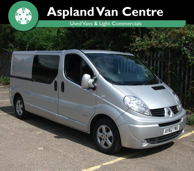 Renault Trafic 2.0DCi Crew Van 115 LWB - Aspland Van Centre, Norwich - USED - 84,000 MILEAGE - MANUAL TRANSMISSION - £9,995 + VAT