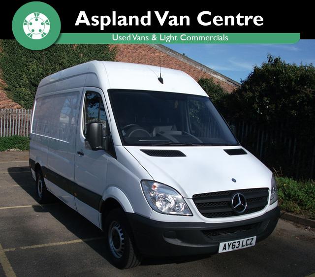 Mercedes Sprinter 2.1TD 313CDi MWB - Aspland Van Centre, Norwich - USED - 71,000 MILEAGE - MANUAL TRANSMISSION - £10,995 + VAT