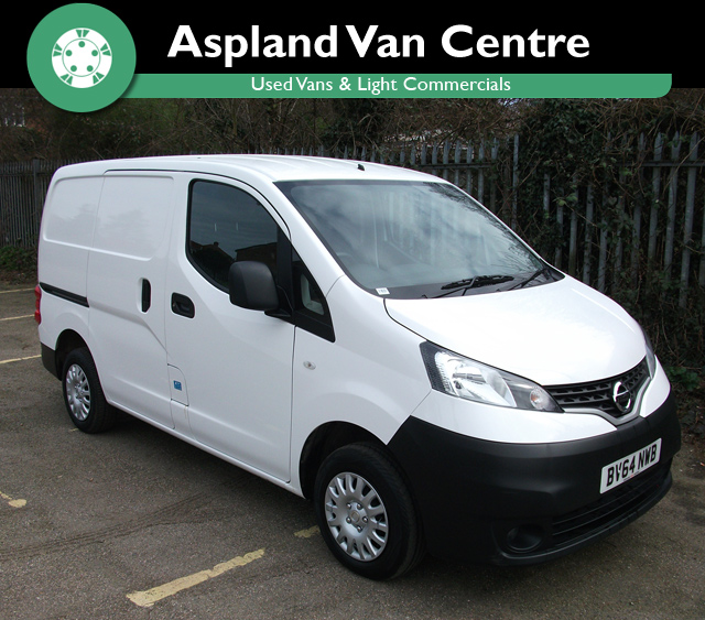 Nissan NV200 1.5DCi Acenta SWB - Aspland Van Centre, Norwich - USED - 26,000 MILEAGE - MANUAL TRANSMISSION - £7,995 + VAT