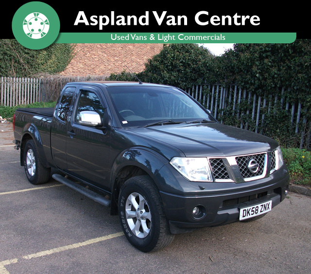 Nissan Navara 2.5DCi King Cab Outlaw Pickup - Aspland Van Centre, Norwich - USED - 87,000 MILEAGE - MANUAL TRANSMISSION - £7,995 + VAT