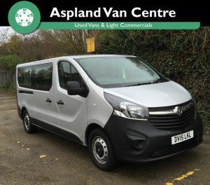 Vauxhall Vivaro 1.6CDTi 2700 9 Str Minibus LWB - Aspland Van Centre, Norwich - USED - 28,000 MILEAGE - MANUAL TRANSMISSION - £14,995 + VAT