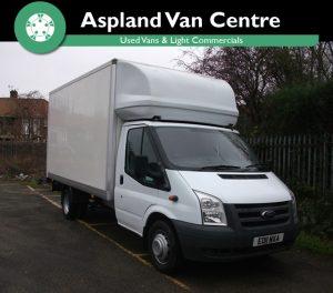 Ford Transit Luton 13/6 Tail Lift LWB - Aspland Van Centre, Norwich - USED - 101,000 MILEAGE - MANUAL TRANSMISSION - £8,995 + VAT
