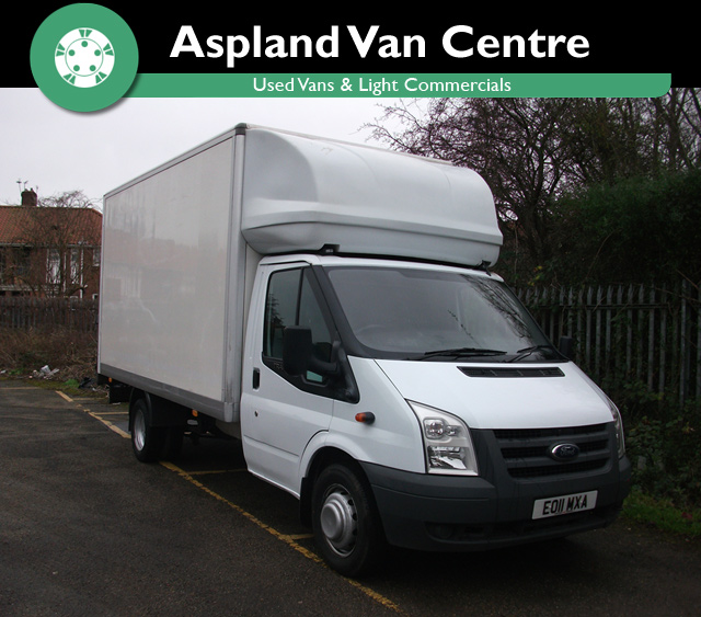 Ford Transit Luton 13/6 Tail Lift LWB - Aspland Van Centre, Norwich - USED - 101,000 MILEAGE - MANUAL TRANSMISSION - £8,995 + VAT