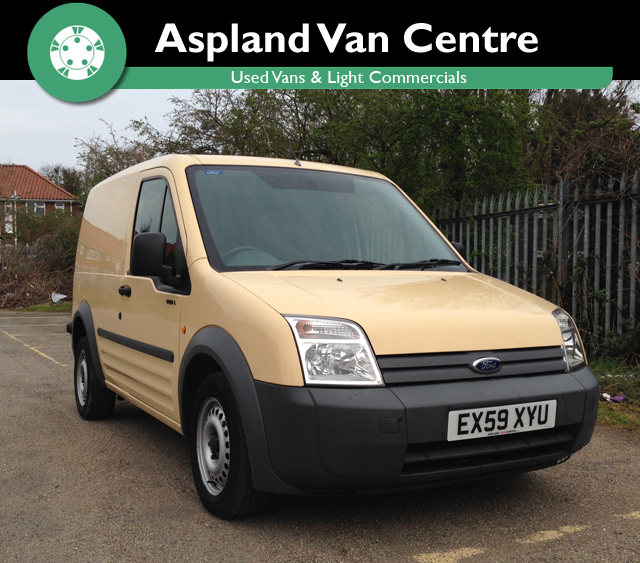 Ford Connect T200 1.8TDCi - Aspland Van Centre, Norwich - USED - 44,000 MILEAGE - MANUAL TRANSMISSION - £5,995 + VAT