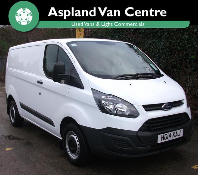 Ford Transit Custom L1 270 SWB - Aspland Van Centre, Norwich - USED - 21,000 MILEAGE - MANUAL TRANSMISSION - £11,495 + VAT