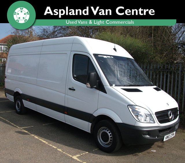 Mercedes Sprinter 2.1TD 313CDi LWB - Aspland Van Centre, Norwich - USED - 49,000 MILEAGE - MANUAL TRANSMISSION - £12,995 + VAT