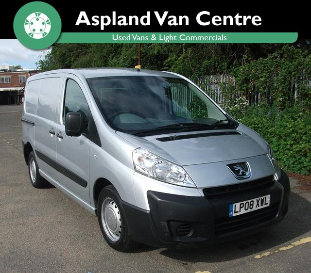 Peugeot Expert 2.0HDi 120 L1 H1 SWB - Aspland Van Centre, Norwich - USED - 58,000 MILEAGE - MANUAL TRANSMISSION - £5,495 + VAT