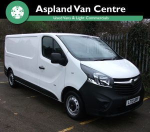 Vauxhall Vivaro 1.6CDTi L2H1 2900 LWB - Aspland Van Centre, Norwich - USED - 36,000 MILEAGE - MANUAL TRANSMISSION - £10,995 + VAT