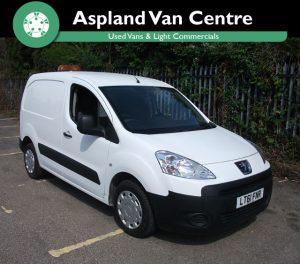 Peugeot Partner 1.6HDi L1 850 - Aspland Van Centre, Norwich - USED - 53,000 MILEAGE - MANUAL TRANSMISSION - £4,995 + VAT