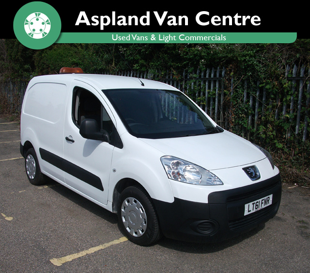 Peugeot Partner 1.6HDi L1 850 - Aspland Van Centre, Norwich - USED - 53,000 MILEAGE - MANUAL TRANSMISSION - £4,995 + VAT