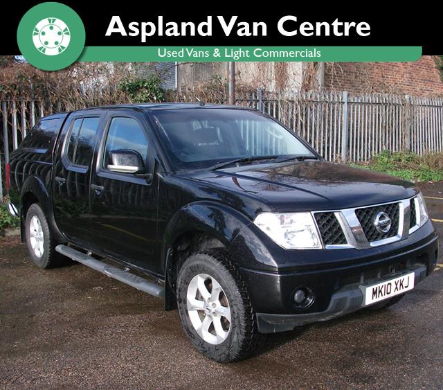 Nissan Navara 2.5DCi Acenta D/Cab Pickup - Aspland Van Centre, Norwich - USED - 47,000 MILEAGE - MANUAL TRANSMISSION - £9,995 + VAT