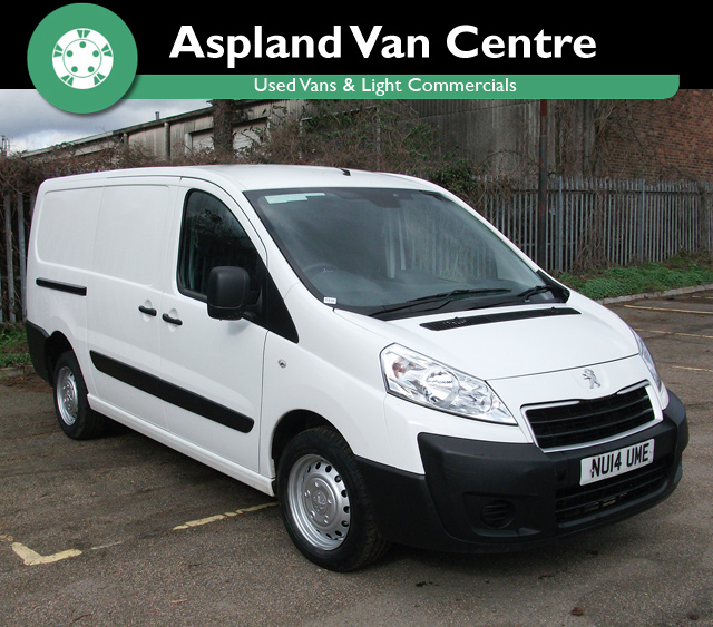 Peugeot Expert 1.6HDi 90 L2 H1 LWB - Aspland Van Centre, Norwich - USED - 43,000 MILEAGE - MANUAL TRANSMISSION - £8,495 + VAT