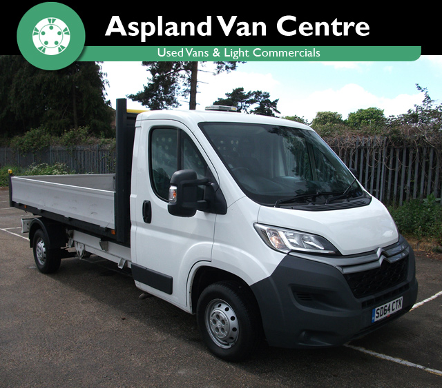 Citroen Relay 2.2HDi Alloy Dropside Truck isometric view