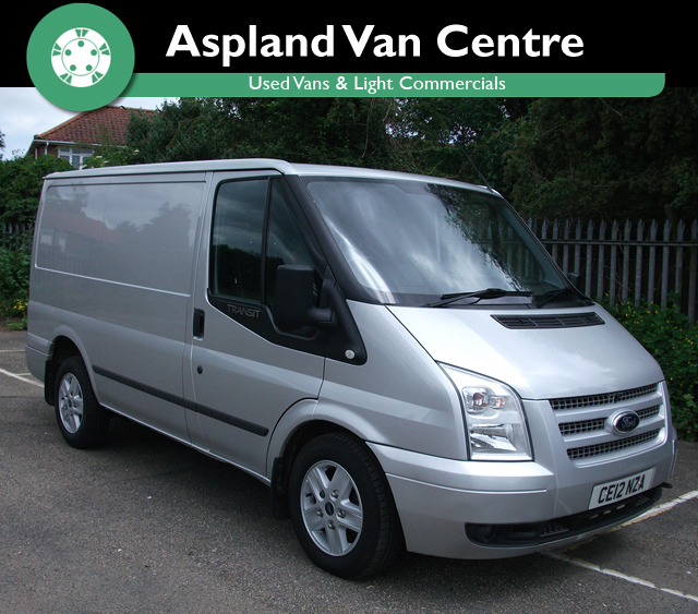 Ford Transit 2.2TDCi 260S SWB isometric view at Aspland Van Centre