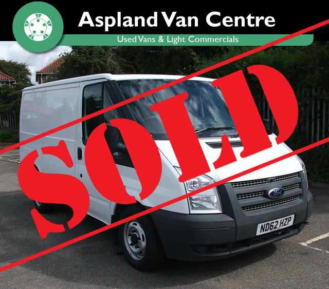 Ford Transit 2.2TDCi 280S (Low Roof) 280 SWB isometric view at Aspland Van Centre now SOLD