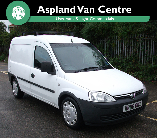 Vauxhall Combo 1.3 2000CDTi 16v isometric view at Aspland Van Centre, Norwich