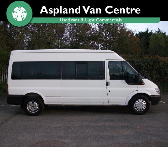 10 Ford Transit 15str Minibus: (06) Ford TRANSIT 350 15 Seater Minibus LWB