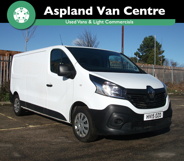Renault Trafic 1.6dCi LL29 115 Business isometric view at Aspland Van Centre