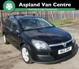 Vauxhall Astravan 1.7CDTi 16v Sportive isometric view at Aspland Van Centre