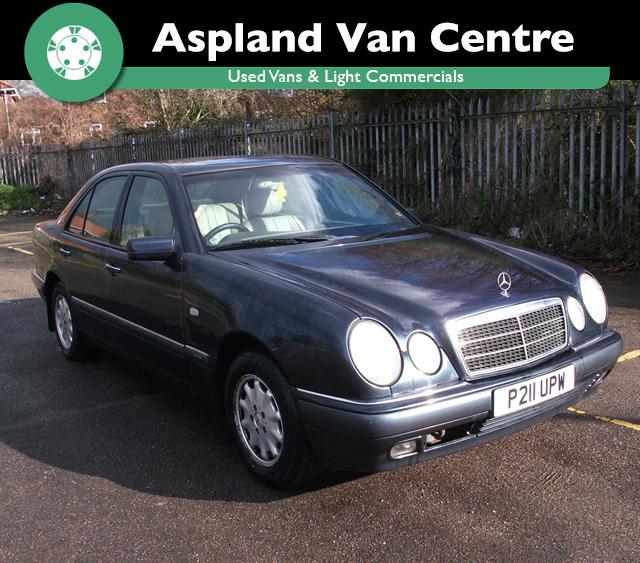 Mercedes-Benz E230 2.3 auto Elegance isometric view at Aspland Van Centre, Norwich