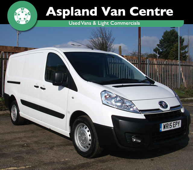 Toyota Proace 2.0HDi 128bhp 1200 L2H1 isometric view at Aspland Van Centre