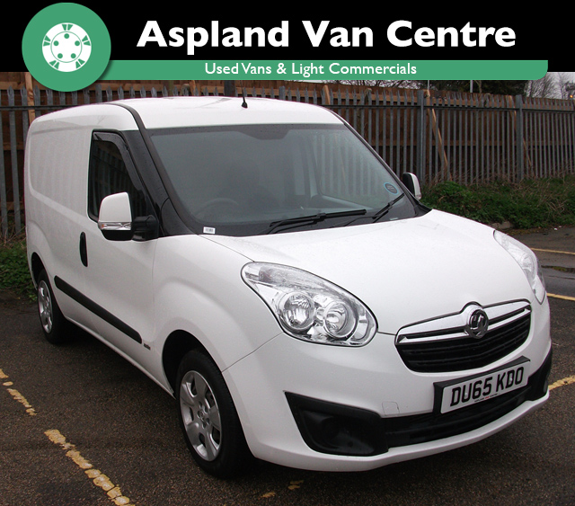 (65) Vauxhall Combo 1.3CDTi 16v L1H1 Sportive 2000 isometric view at Aspland Van Centre