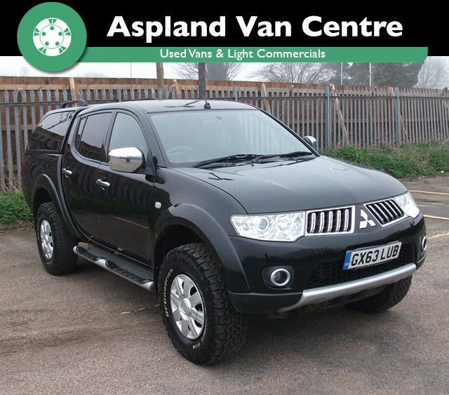Mitsubishi L200 2.5DI-D 4WD Trojan D/Cab Pick Up isometric view at Aspland Van Centre