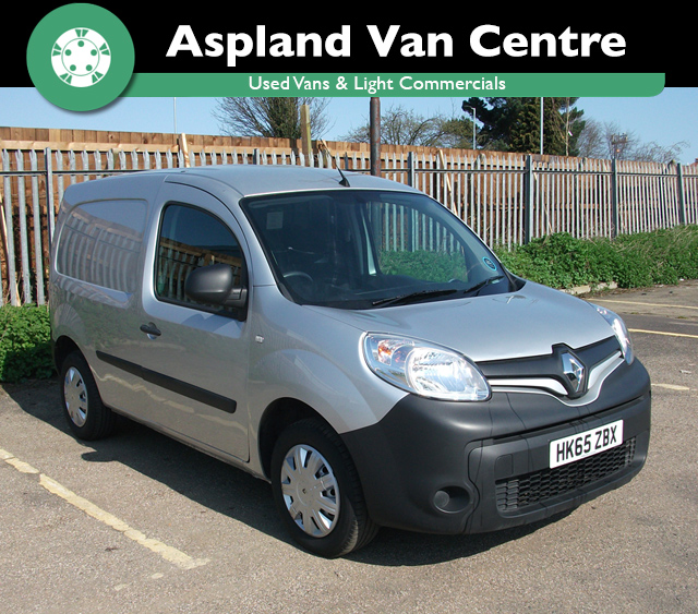 (65) Renault Kangoo ML 19CDi 1.5 isometric view at Aspland Van Centre