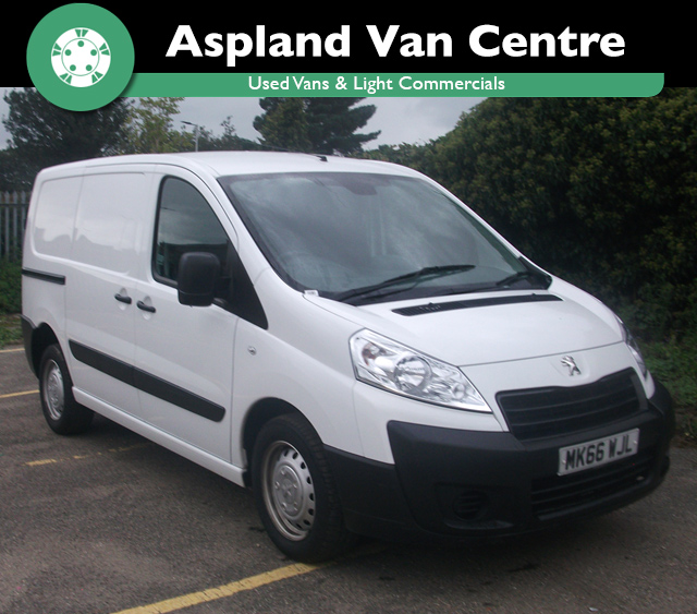 (66) Peugeot Expert 1.6HDi 90 Professional L1 H1 isometric view at Aspland Van Centre