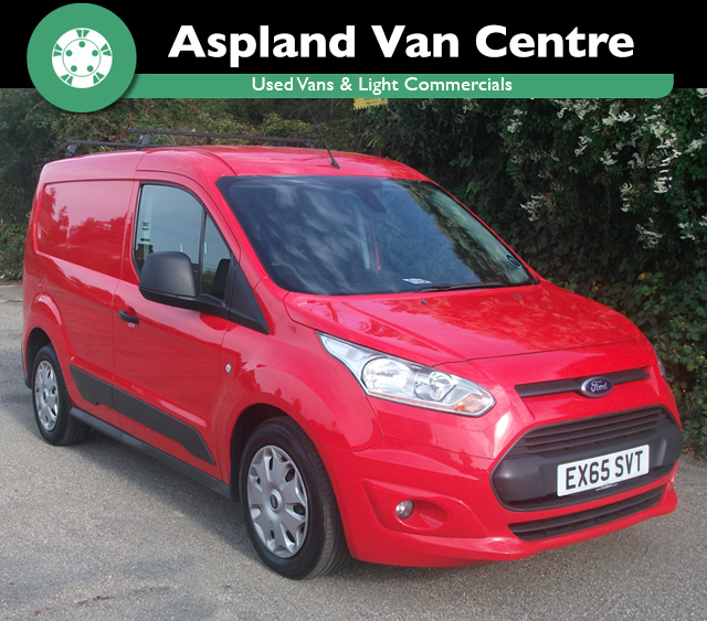 (65) Ford Transit Connect 1.6TDCi L1 Trend isometric view at Aspland Van Centre