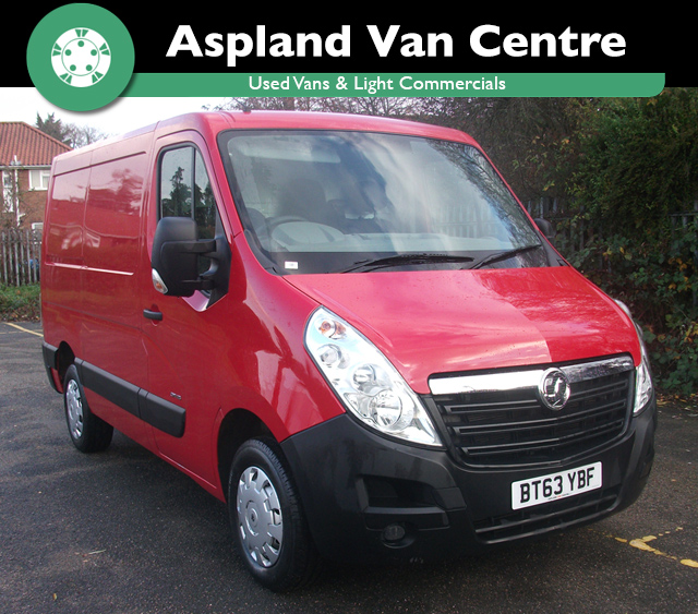 (63) Vauxhall Movano 2.3CDTI 16v (125ps) L1H1 3500 SWB isometric view at Aspland Van Centre