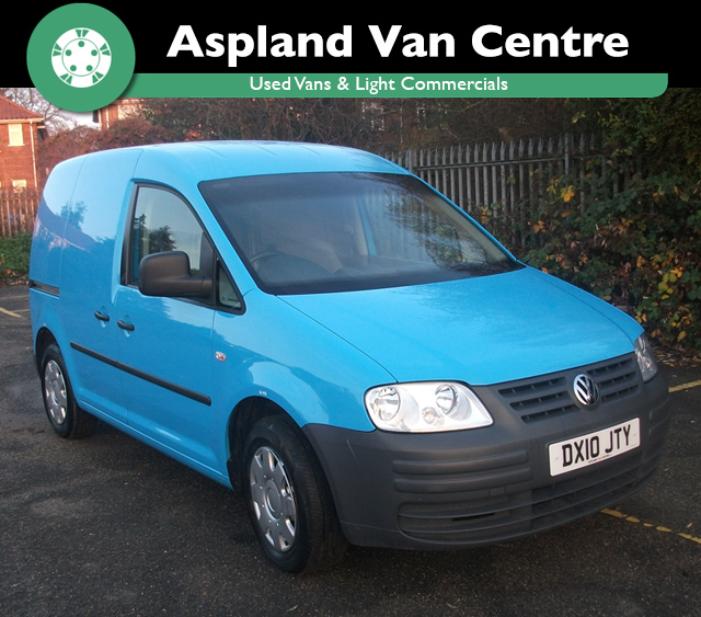 (10) Volkswagen Caddy 2.0SDI PD C20 SWB isometric view at Aspland Van Centre