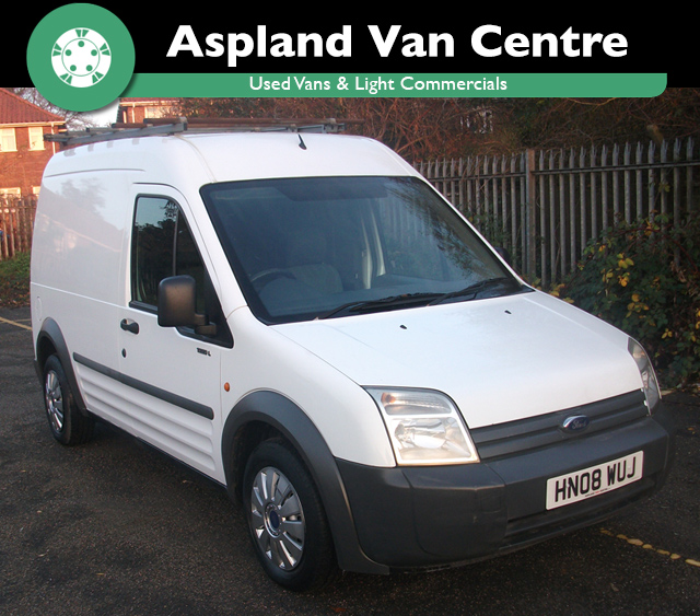 (08) Ford Transit Connect 1.8TDCi T230 SWB isometric view at Aspland Van Centre