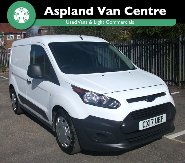 (17) Ford Transit Connect 1.5TDCi L1 220 isometric image at Aspland Van Centre