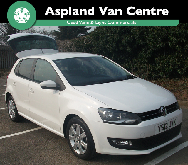 (12) Volkswagen Polo 1.4 DSG Match Automatic isometric view at Aspland Van Centre