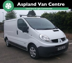 (09) Renault Trafic 2.0TD SL27dCi 115 SWB isometric view at Aspland Van Centre