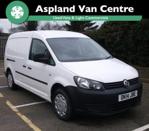 (14) Volkswagen Caddy 1.6TDI (102PS) C20 Startline Maxi LWB isometric image at Aspland Van Centre