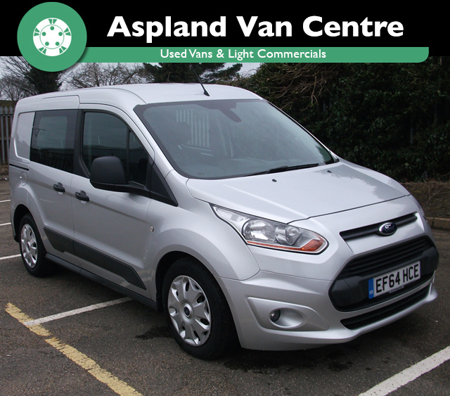 (64) Ford Transit Connect 1.6TDCi L1 Trend 220 (95 ps) isometric image at Aspland Van Centre