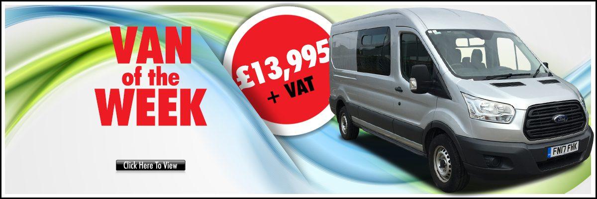Van of the Week is (17) Ford TRANSIT 350 9 Seater Minibus