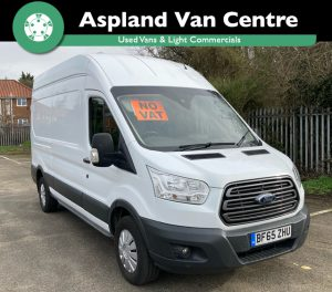 (65) Ford Transit Trend 2.2 350 LWB isometric right looking image