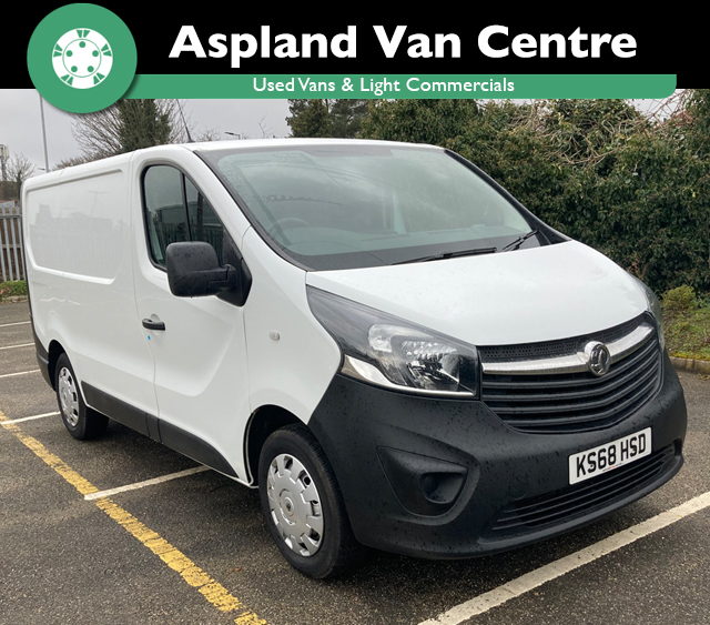 (68) Vauxhall Vivaro L1 isometric image at Aspland Van Centre