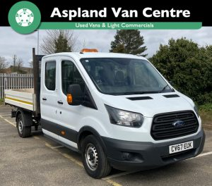 (67) Ford Transit 6 seater Double Cab Tipper 20TDi 130PS isometric view