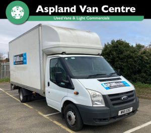 (11) Ford Transit Luton TDCi 140ps Heavy Duty Tail Lift isometric view