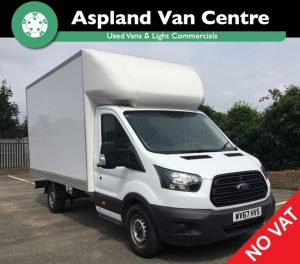 (67) Ford Transit Luton 2.0 TDCi 170ps Chassis Cab isometric view
